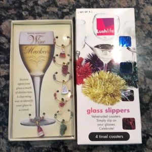 Wine Glass Charms 🍷set of 2